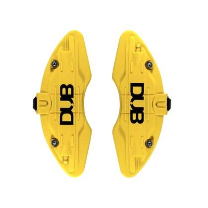 capa para pinça de freio amarela - par universal
