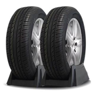 kit 2 pneu aro 14 ecológico 185/70r14 recauchutado amazon