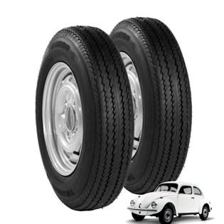 kit 2 pneu aro 15 ecológico fusca 5-60r15 recauchutado amazon