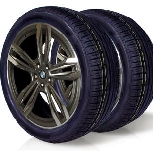 kit 2 pneu aro 17 remold 215/45r17 am plus