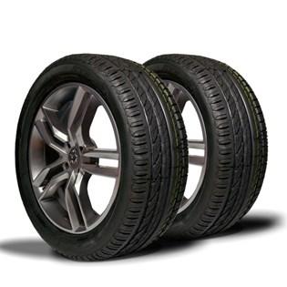 kit 2 pneu aro 17 remold 215/45r17 strong