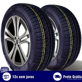 kit 2 pneu remold 175/65r14 ck506 cockstone (desenho pirelli)