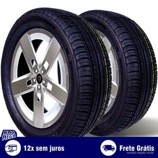 kit 2 pneu remold 185/60r15 ck504 cockstone (desenho kumho)