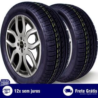 kit 2 pneu remold 195/55r15 ck507 cockstone (desenho pirelli)