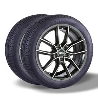 Kit 2 pneu remold aro 14 175/70r14 HOT MEGA desenho pirelli