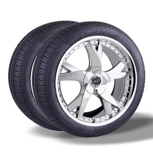 Kit 2 pneu remold aro 15 185/60r15 HOT MEGA desenho pirelli