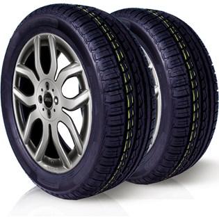 kit 2 pneu remoldado aro 13 165/70r13 cockstone