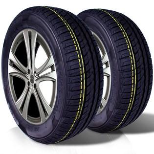 kit 2 pneu remoldado aro 14 175/65r14 ck506 cockstone