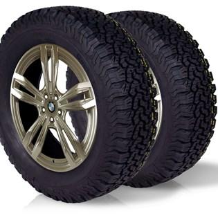 kit 2 pneu remoldado aro 14 175/70r14 bf modelo bf goodrich ko2