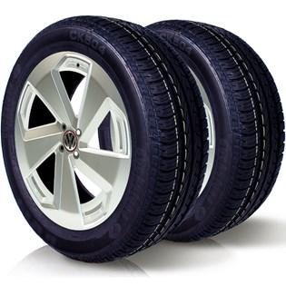 kit 2 pneu remoldado aro 14 185/70r14 cockstone