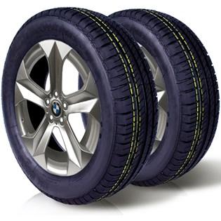 kit 2 pneu remoldado aro 15 175/65r15 ck5004 cockstone