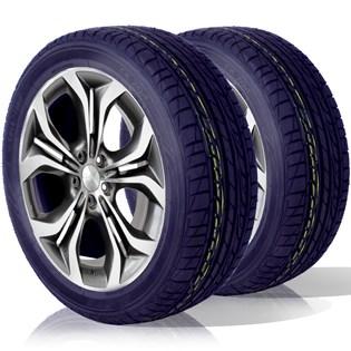 kit 2 pneu remoldado aro 15 195/55r15 ck704 cockstone