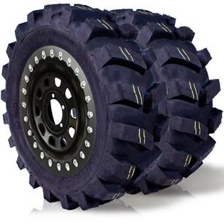 kit 2 pneu remoldado aro 15 205/70r15 4x4 off road cockstone