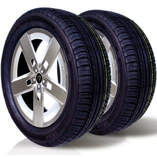 kit 2 pneu remoldado aro 16 195/55r16 ck360 cockstone