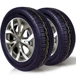 kit 2 pneu remoldado aro 16 195/60r16 ck603 cockstone