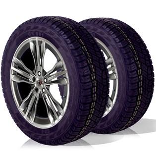 kit 2 pneu remoldado aro 16 205/60r16 atr ck801 cockstone