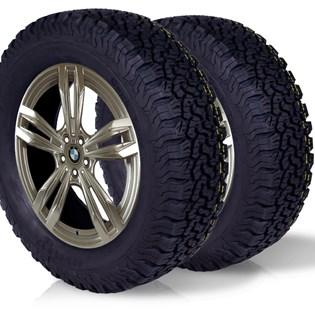 kit 2 pneu remoldado aro 17 225/65r17 bf ck405 cockstone
