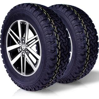 kit 2 pneu remoldado aro 17 265/65r17 bf ck405 cockstone