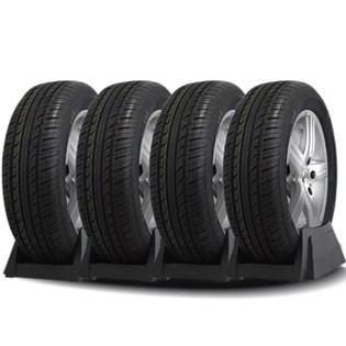 kit 4 pneu aro 13 ecológico 165/70r13 recauchutado amazon
