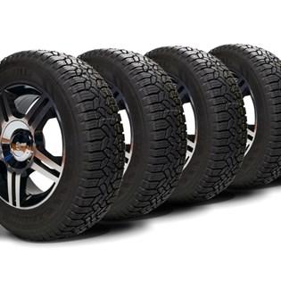 kit 4 pneu aro 13 remold 185/70r13 strong