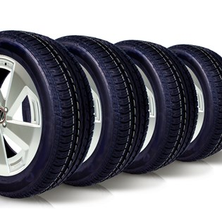 kit 4 pneu aro 14 185/65r14 wemic forlli remold 5 anos garantia