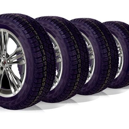 kit 4 pneu aro 15 205/65r15 atr wemic forlli remold 5 anos garantia