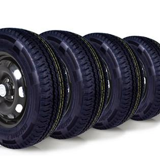 kit 4 pneu aro 15 remold 205/70r15 carga 8 lonas cockstone