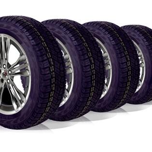 kit 4 pneu aro 16 205/60r16 ATR roda bem remold 5 anos garantia