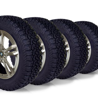 kit 4 pneu aro 16 205/60r16 bf roda bem remold 5 anos garantia
