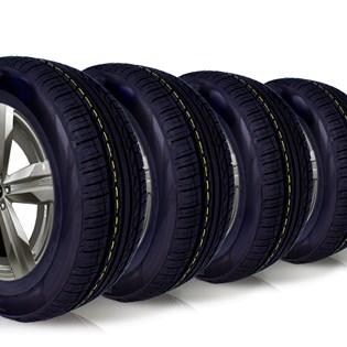 kit 4 pneu aro 16 235/60r16 roda bem remold 5 anos garantia