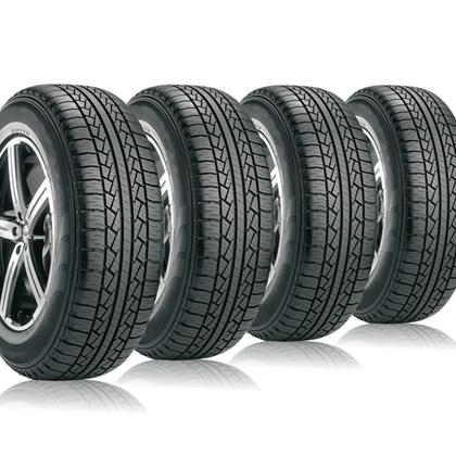 kit 4 pneu aro 16 265/70r16 STR roda bem remold 5 anos garantia