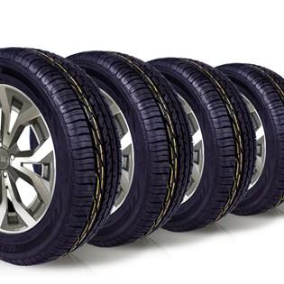 kit 4 pneu aro 16 remold 195/60r16 ck603 cockstone