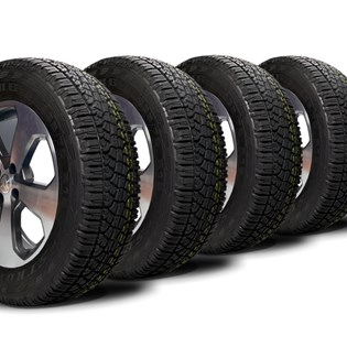 kit 4 pneu aro 16 remold 235/70r16 atr strong
