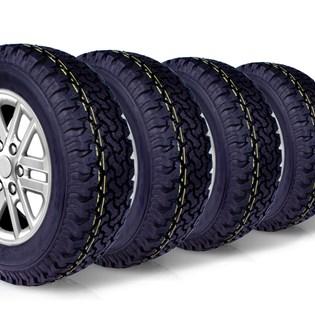 kit 4 pneu aro 17 265/65r17 BF roda bem remold 5 anos garantia