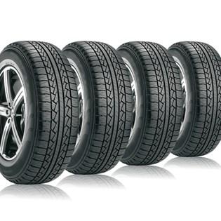 kit 4 pneu aro 17 265/65r17 STR roda bem remold 5 anos garantia
