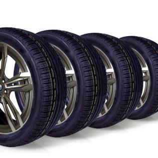 kit 4 pneu aro 17 remold 215/45r17 am plus