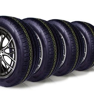 kit 4 pneu aro 17 remold 225/50r17 ck8001 cockstone