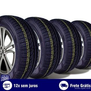 kit 4 pneu remold 175/65r14 ck506 cockstone (desenho pirelli)