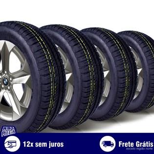 kit 4 pneu remold 175/65r15 ck5004 cockstone (desenho goodyear)