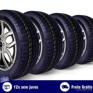 kit 4 pneu remold 195/55r15 ck507 cockstone (desenho pirelli)