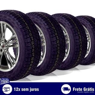 kit 4 pneu remold 205/60r16 atr ck801 cockstone (desenho pirelli)