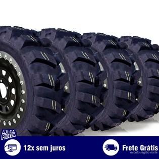 kit 4 pneu remold 205/75r16 4x4 off road cockstone