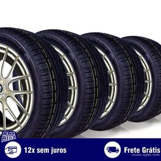 kit 4 pneu remold 225/45r17 ck360 cockstone (desenho goodyear)