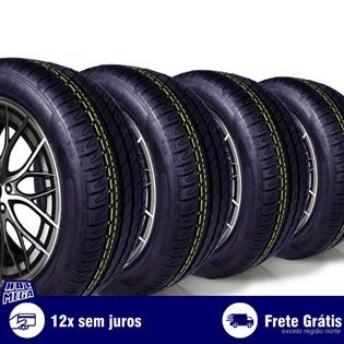 kit 4 pneu remold 225/50r17 ck8001 cockstone (desenho michelin)