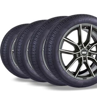 kit 4 pneu remold aro 14 175/70r14 HOT MEGA desenho pirelli
