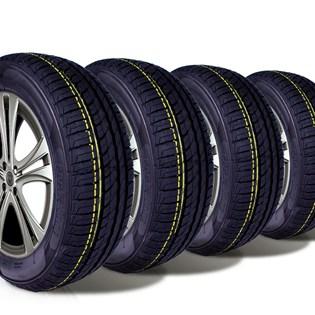 kit 4 pneu remoldado aro 14 175/65r14 ck506 cockstone