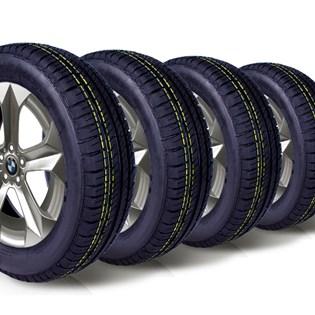 kit 4 pneu remoldado aro 14 175/70r14 ck5004 cockstone