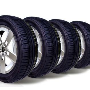 kit 4 pneu remoldado aro 15 185/60r15 ck504 cockstone