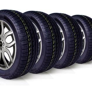 kit 4 pneu remoldado aro 15 195/55r15 ck507 cockstone