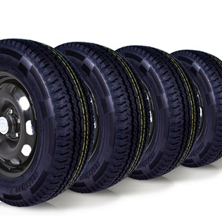 kit 4 pneu remoldado aro 15 205/70r15 carga 8 lonas cockstone